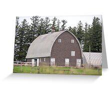 Brick Goth Barn Greeting Card