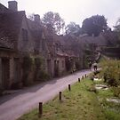 Row houses, Bibury, Gloucestershire by BronReid