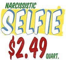 Narcissistic Selfie Supermarket by Edward Fielding
