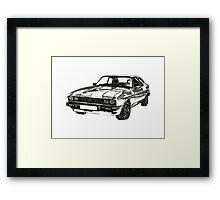Ford Capri 3.0 S MK3 Framed Print