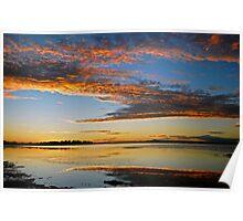Mallabula, magic sunset Poster
