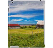 Old Barns at Burnthead Cove, Nova Scotia iPad Case/Skin