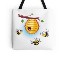 Honey Bees Lookin' for a Home Tote Bag