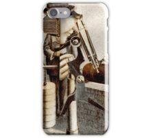 The Earthquake Measurer. iPhone Case/Skin