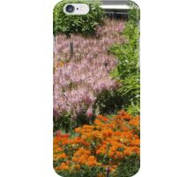 Summer Flowers, High Line, New York City's Elevated Garden and Park iPhone Case/Skin