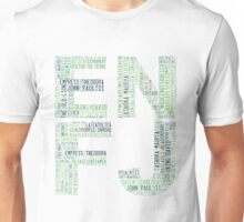 ENFJ Word Cloud Unisex T-Shirt