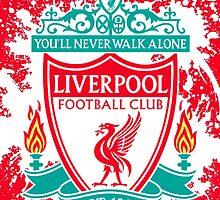 Liverpool FC Splash by quinnprees