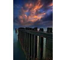 Cloudy Shorncliffe Photographic Print