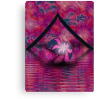 Hippy Marble in a Hippy World Canvas Print