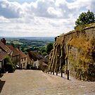 Gold Hill, Shaftesbury ii by BronReid