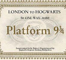 Hogwarts Express Ticket by Serdd