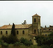 old church, Lourmarin, in the Luberon, France by BronReid