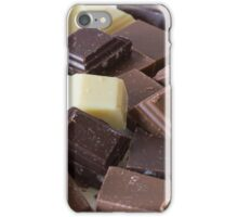 Mixture of Different Colour Chocolate Blocks iPhone Case/Skin