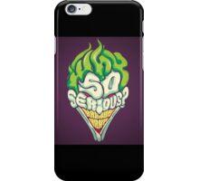 jokerton2 iPhone Case/Skin