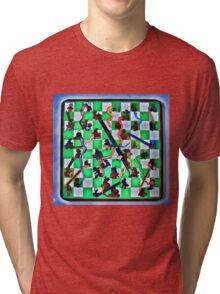 Ghostly Snake Game Tri-blend T-Shirt