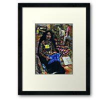 Folk Festival Framed Print