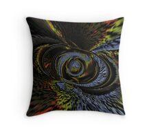 Razor Nebula Throw Pillow