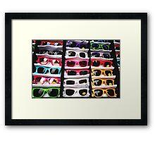 80's Sunglasses, Camden Markets - London Framed Print