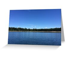 Cortes Island, Canada Greeting Card