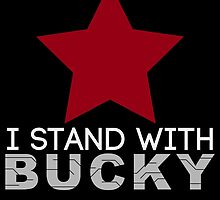 I Stand With Bucky by Arcee Partridge
