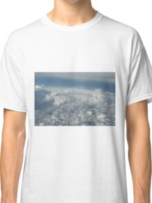 cloudscape from the plane Classic T-Shirt