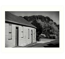 Mt Roland, Sheffield Tasmania Art Print