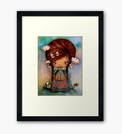 Little Shepherd Girl Framed Print