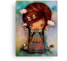 Little Shepherd Girl Canvas Print