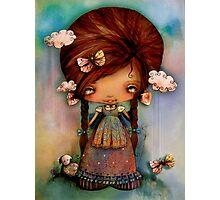 Little Shepherd Girl Photographic Print