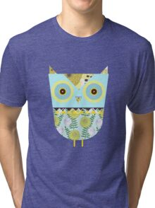 Lonely Owl Tri-blend T-Shirt