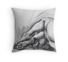 Life study legs only Throw Pillow