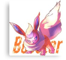 Booster | ブースター | Flareon Doodle Canvas Print