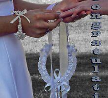 Wedding card by Julia Harwood