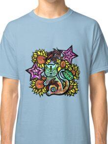 China Cat Sunflower Classic T-Shirt