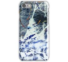 tree falling in the forest iPhone Case/Skin