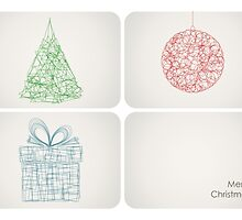 Abstract Christmas by RumourHasIt