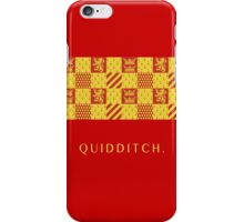 Gryffindor Quidditch.  iPhone Case/Skin