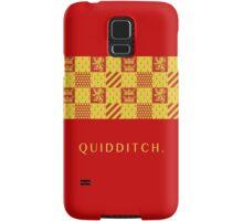Gryffindor Quidditch.  Samsung Galaxy Case/Skin