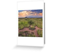 Karoo rush hour Greeting Card