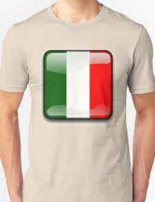 Italian Flag, Italy Icon T-Shirt