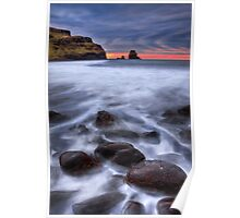 Talisker bay, Isle of Skye, Scotland. Poster