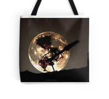 SKELETON MOON Tote Bag