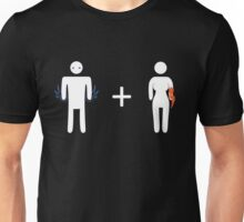 Kaidan and Fem!Shep Unisex T-Shirt