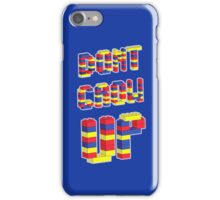 Don't Grow Up iPhone Case/Skin