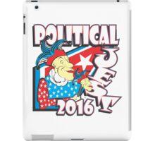 POLITICAL JEST iPad Case/Skin