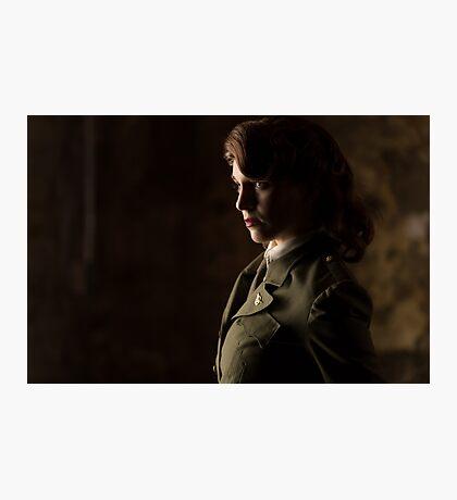 Agent Tanya Wheelock (Photography by Sean William / Dragon Ink Photography) Photographic Print
