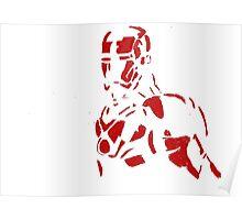 Tin man silhouette Poster