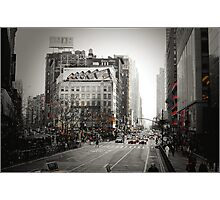 Broadway and 33rd Street Photographic Print