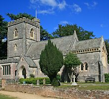 St Mary's Church, Brownsea Island by RedHillDigital