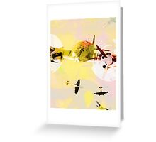 airplanes at dawn Greeting Card